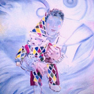 Painting of a Clown
